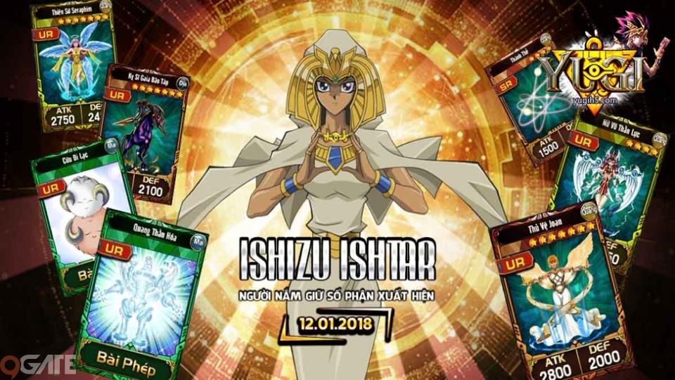 Người lạ mặt Ishizu Ishtar xuất hiện trong Yugi H5