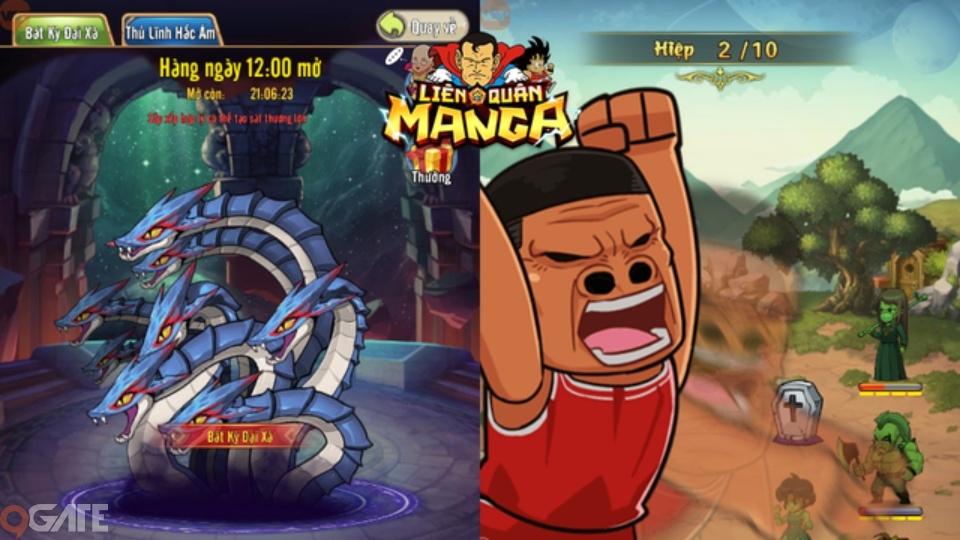 Đánh giá Liên Quân Manga: Game hài hước chẳng kém gì Táo Quân