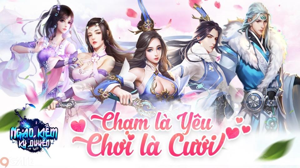 Ngạo Kiếm Kỳ Duyên - Game kiếm hiệp đậm chất ngôn tình sắp ra mắt game thủ Việt