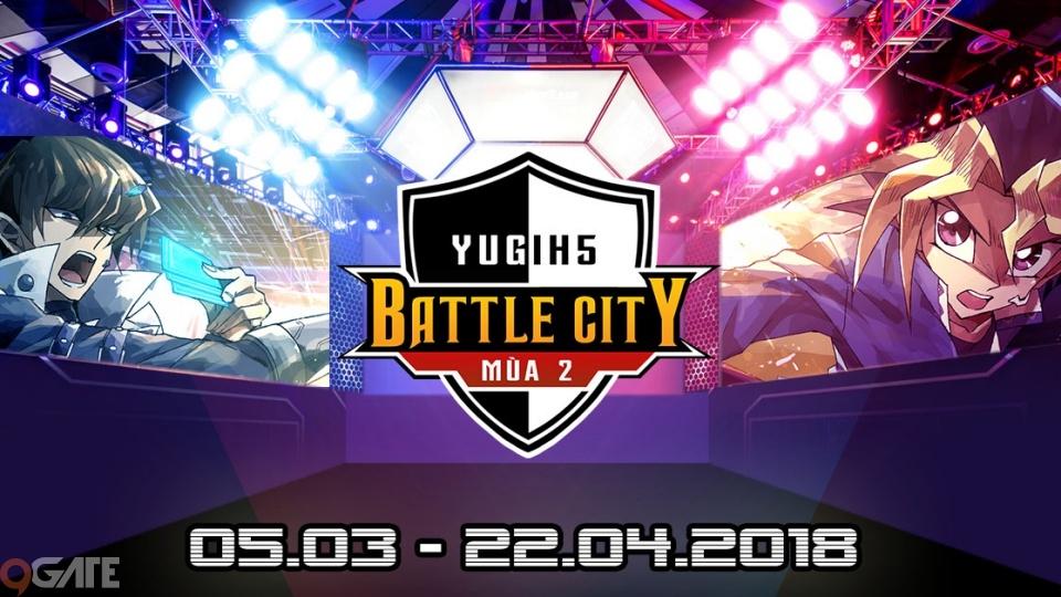 Yugi tung nhân vật mới Bakura trước giải đấu Batttle City mùa 2