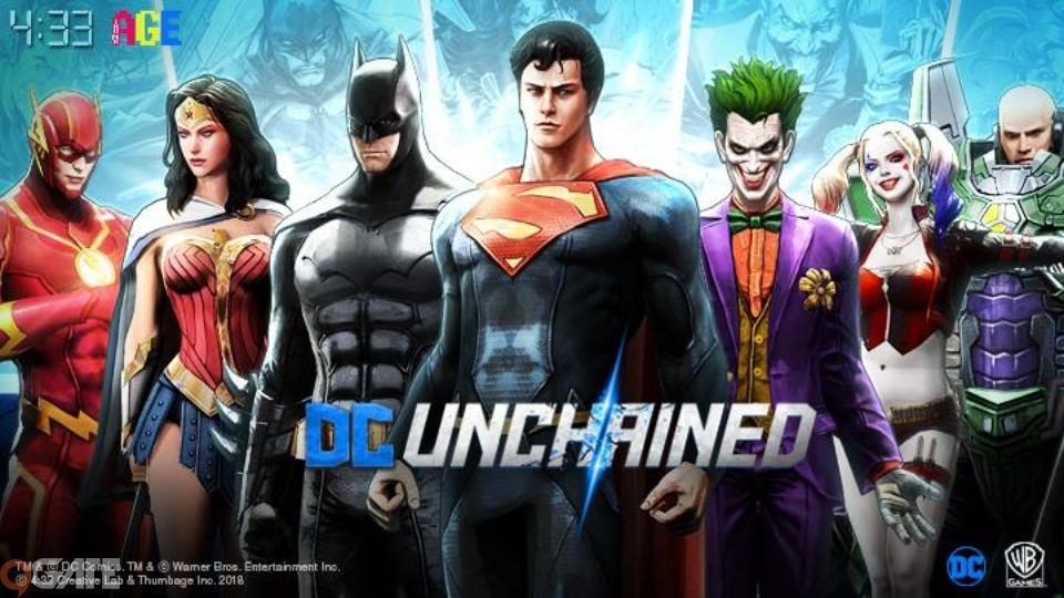 Siêu phẩm DC Unchained mở cửa chào đón game thủ Đăng ký sớm từ ngày 15/3