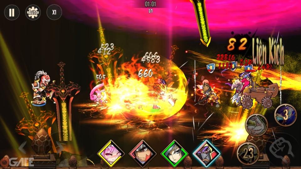Bá Đạo 3Q: Game nhập sở hữu đồ họa kiểu Nhật Bản cập bến Việt Nam