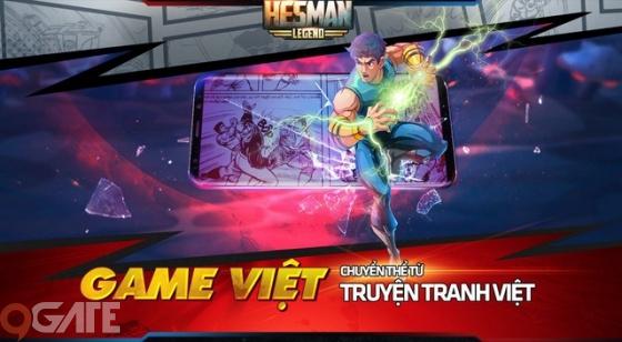 Hesman Legend - Game Việt chuyển thể từ truyện tranh Dũng Sĩ Hesman trở lại