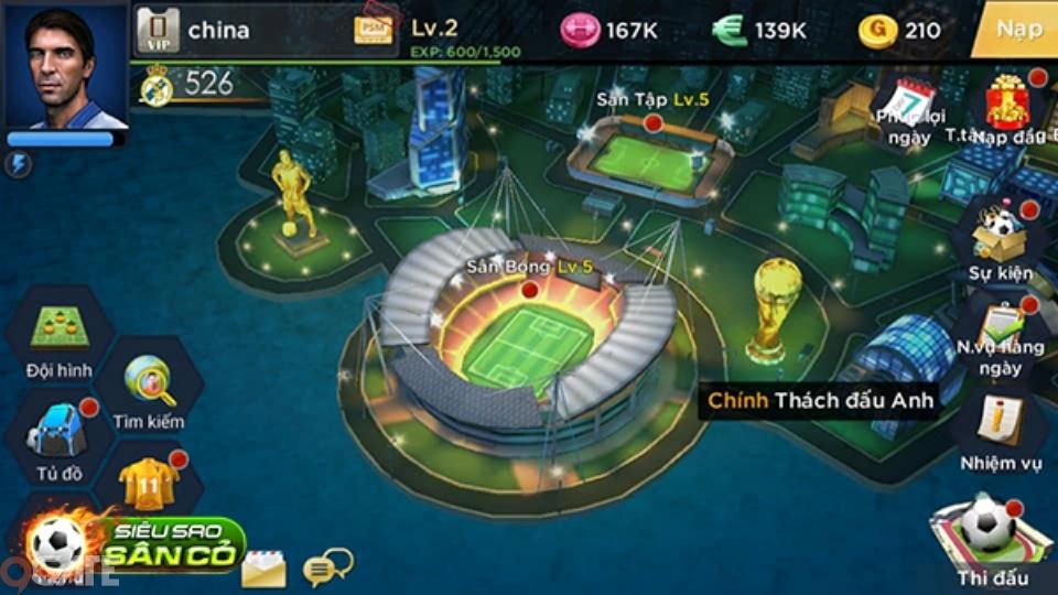 Siêu Sao Sân Cỏ chính thức ra mắt, tặng Giftcode chung duy nhất