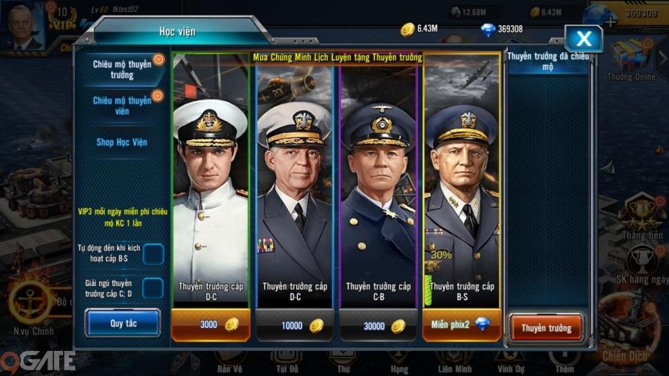 Trải nghiệm Đại Chiến Hạm: Game hải chiến hấp dẫn, hội tụ đủ các tính năng cuốn hút game thủ Việt