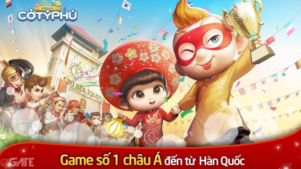 NPH VNG mang 360mobi Cờ Tỷ Phú đẳng cấp Hàn Quốc về Việt Nam
