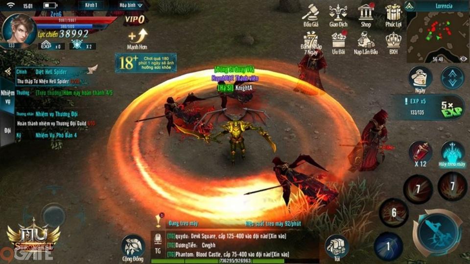 3 chuỗi nhiệm vụ đầu tiên ở MU Strongest game thủ nhất định phải lưu ý