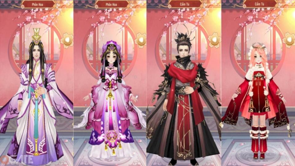 Trọn bộ bí kíp tranh sủng chỉ có tại 360mobi Mộng Hoàng Cung