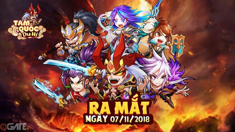 """""""Ngày chờ - đêm mong"""" đã đủ, nay Tam Quốc Du Hí đã chính thức mở cửa cho  cộng đồng game thủ thỏa sức tung hoành thiên hạ, thu thập mỹ nhân."""