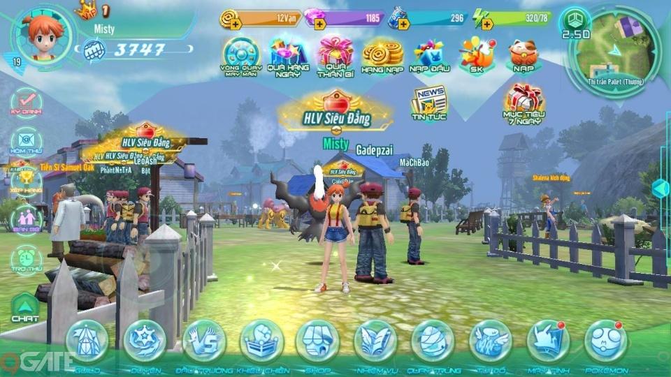 Trải nghiệm Làng Quái Thú Mobile: Tái hiện thế giới Pokemon trong tâm tưởng game thủ