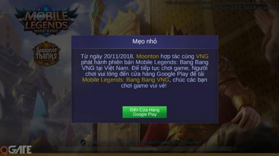 Moonton đóng đăng nhập Mobile Legends bản Quốc Tế, game thủ Việt hoang mang