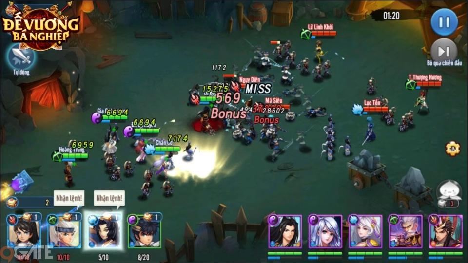 """Đế Vương Bá Nghiệp: Game chiến thuật thả lính """"hack não"""" chính thức Open Beta ngay hôm nay"""