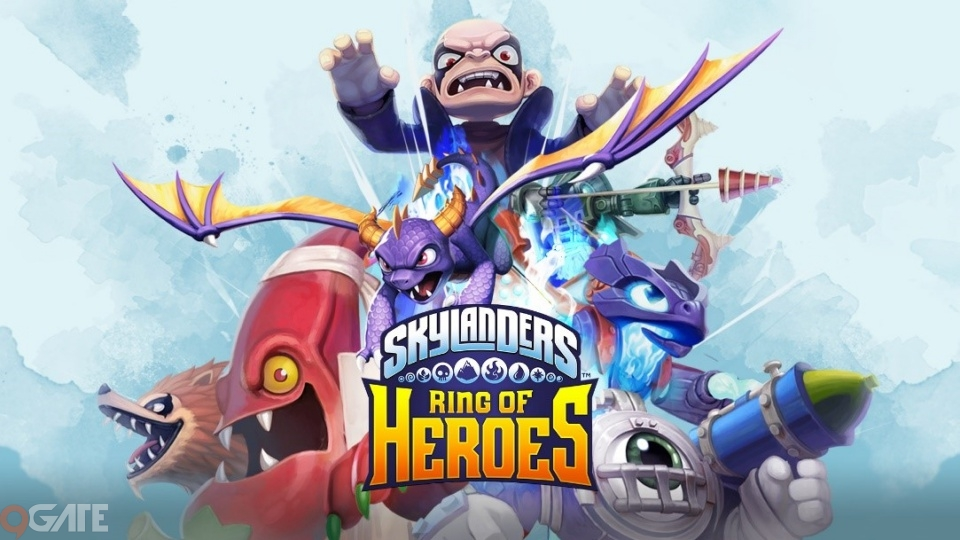 Com2uS tung video giới thiệu gameplay của tựa game sắp ra mắt Skylanders™ Ring of Heroes
