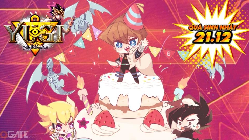Yugi H5 tặng Giftcode nhân dịp Đại tiệc Sinh Nhật tròn 1 tuổi