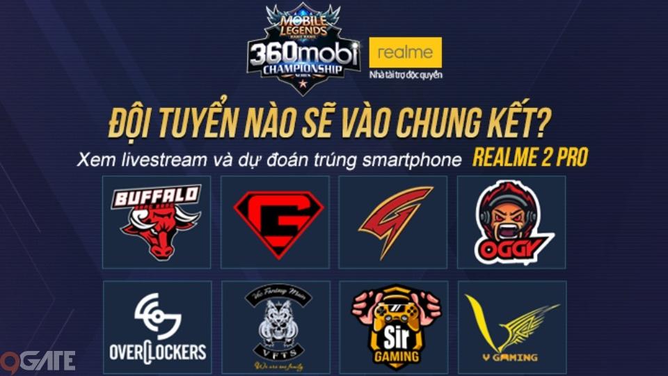 Trước giờ G vòng Play-off giải Mobile Legends Bang Bang VNG