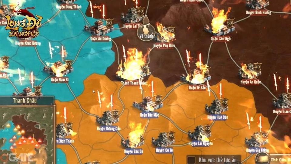 Nhiều tay chơi yêu mến dòng game chiến thuật đang đổ xô về Long Đồ Bá Nghiệp Mobile