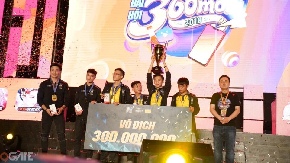 VEC Fantasy Main vô địch Mobile Legends Bang Bang VNG, xuất sắc giành giải thưởng 300 triệu đồng