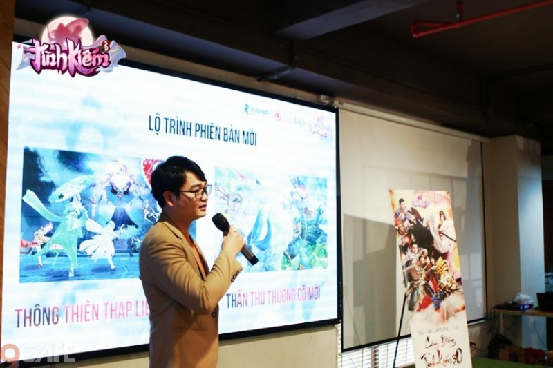 500 anh em game thủ quẩy cực sung tại Big Offline Tình Kiếm 3D Hà Nội