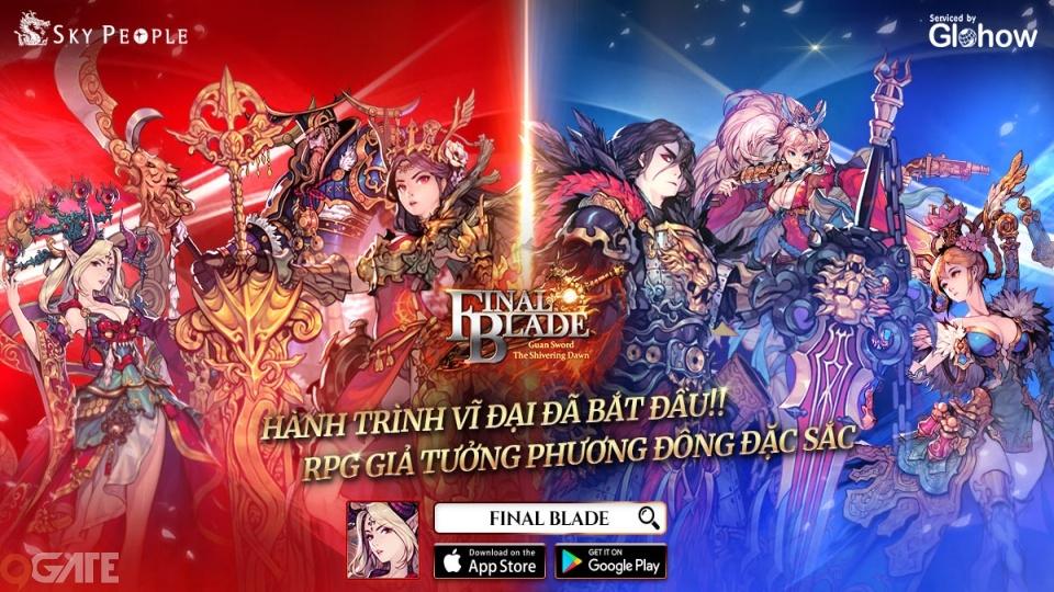 Final Blade chính thức phát hành trên toàn cầu, tung nhiều sự kiện hấp dẫn