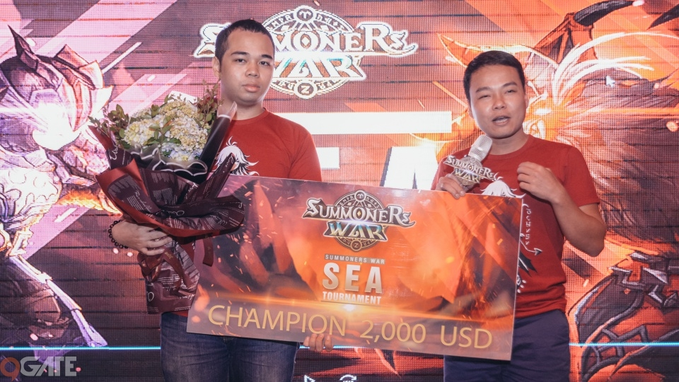Tuyển thủ Việt Nam đã giành chức vô địch tại giải Summoners War Đông Nam Á