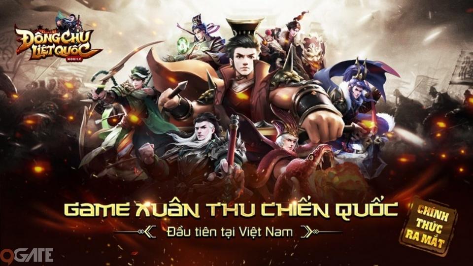 Đông Chu Liệt Quốc Mobile – Siêu phẩm Xuân Thu Chiến Quốc đầu tiên tại Việt Nam chính thức được phát hành