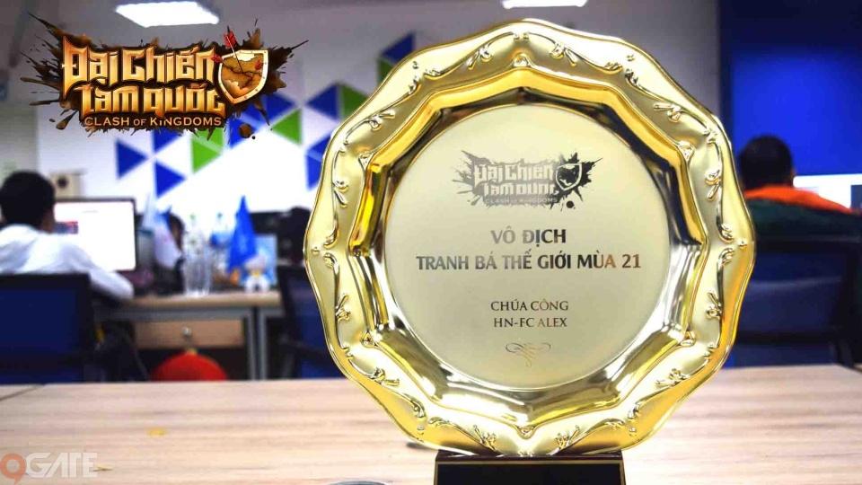 Đại Chiến Tam Quốc là tựa game Việt Nam đầu tiên có game thủ vô địch thế giới