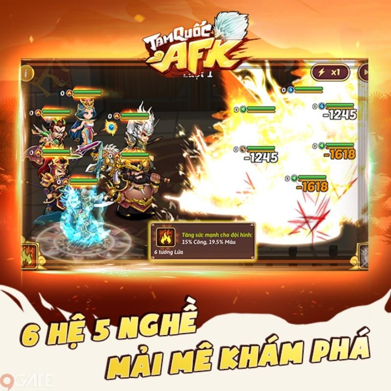 Tam Quốc AFK   Game đấu tướng rảnh tay duy nhất tại Việt Nam ấn định ngày ra mắt