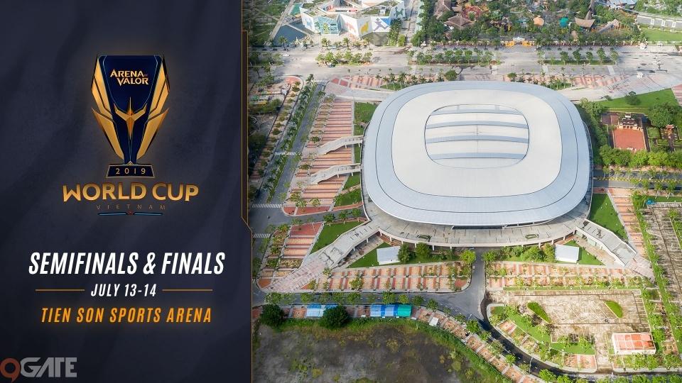 Liên Quân Mobile: Cung thể thao Tiên Sơn - Đà Nẵng sẽ tổ chức trận bán kết và chung kết AWC 2019
