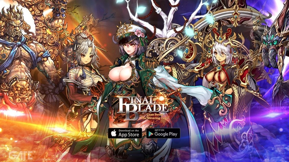 Chào đón Big Update Final Blade cùng tướng Dazzling Ashley và chế độ Boss Thế Giới