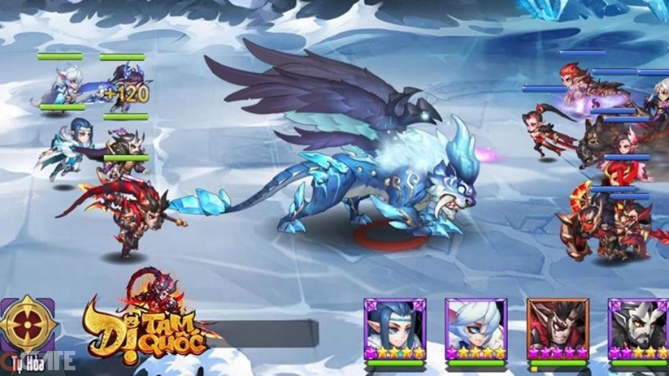 Dị Tam Quốc - Game dị bản Tam Quốc linh hoạt về chiến thuật nổi bật về lối chơi