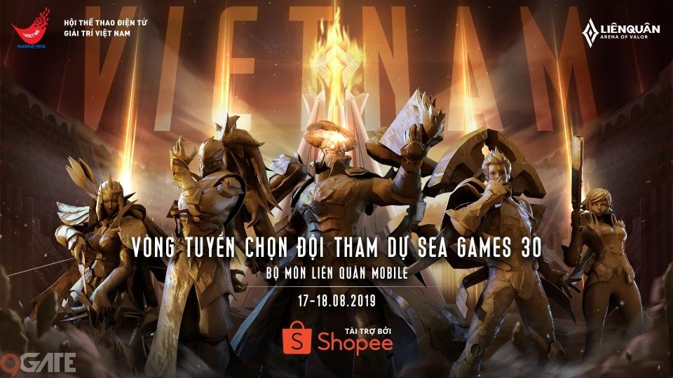 Công bố vòng tuyển chọn đội tuyển Liên Quân Mobile Việt Nam tham dự Seagames 30