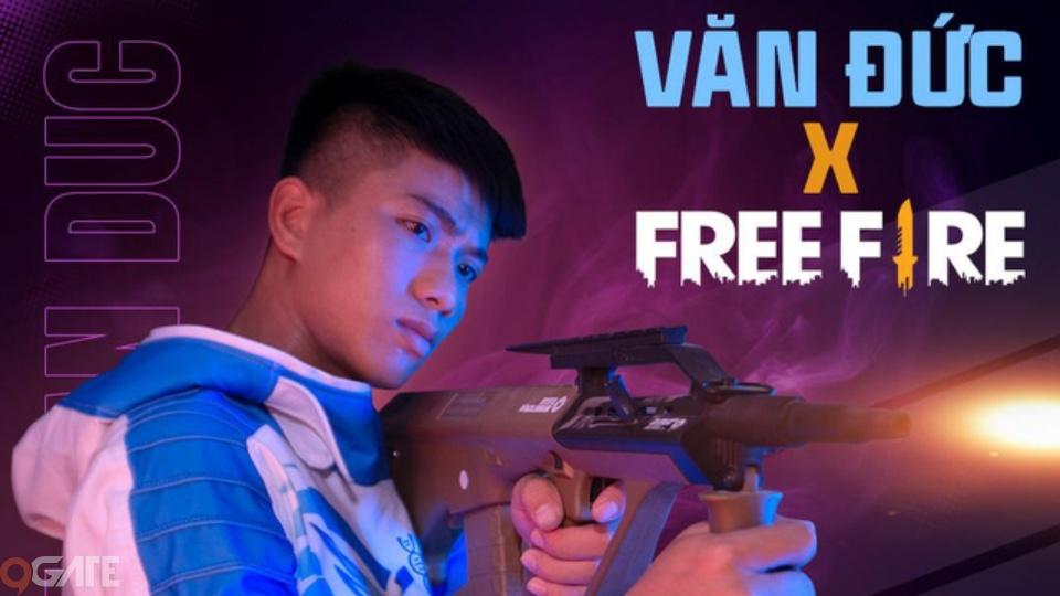 Free Fire chơi lớn kết hợp cùng Văn Đức - Ra mắt nhân vật siêu cầu thủ, xuất hiện súng trường AUG, Đảo Quân Sự khoác áo mới