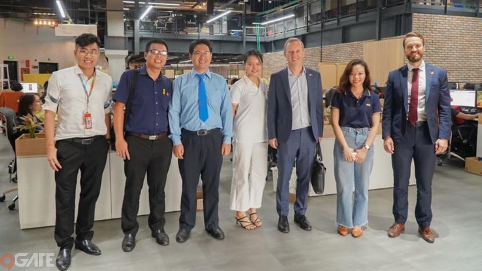 VNG Campus đón chào những vị khách đặc biệt ghé thăm