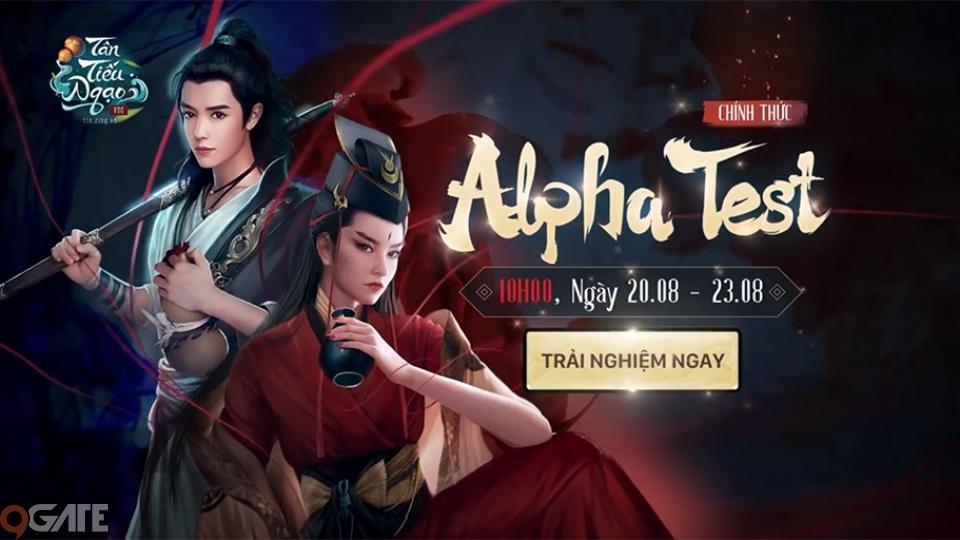 10h00 hôm nay (20/8) - Tân Tiếu Ngạo VNG mở cửa Alpha Test