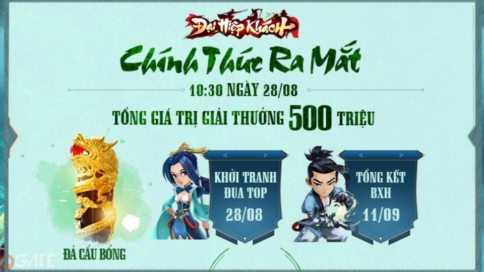 Đại Hiệp Khách chính thức ra mắt hôm nay, trải nghiệm đỉnh cao game kiếm hiệp của người Việt ngay bây giờ!
