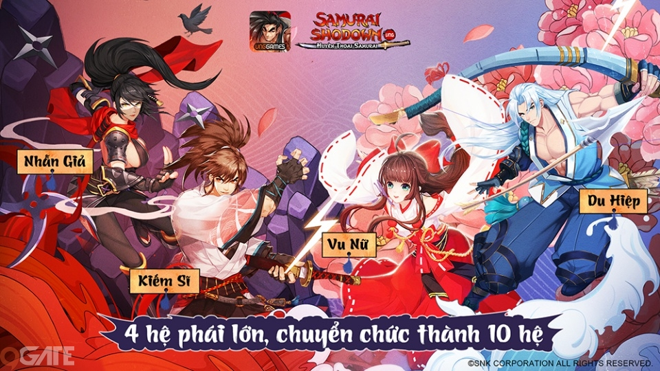 Nên chọn nhân vật nào trong SAMURAI SHODOWN VNG?