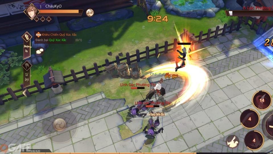 SAMURAI SHODOWN VNG: Game thủ bất ngờ với lối chơi nhập vai hành động mới lạ