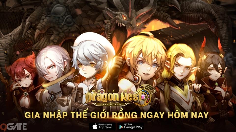 World of Dragon Nest mở đăng ký trước cho game thủ Việt kể từ hôm nay, hãy nhanh tay để nhận vật phẩm trị giá $50 nhé!