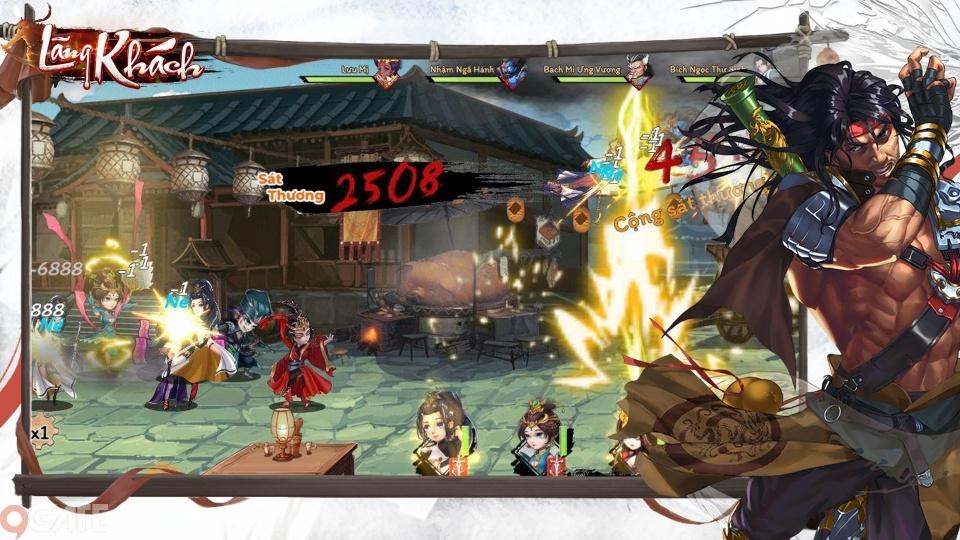 Lãng Khách Mobile - Game thẻ tướng cốt truyện kiếm hiệp Kim Dung sắp ra mắt trong tháng 9