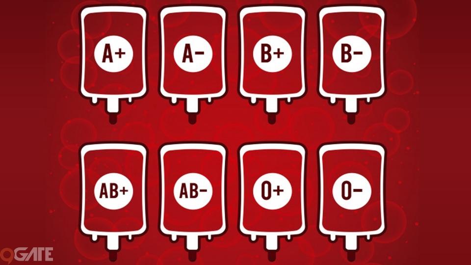 Cùng soi độ khát máu và cá tính của game thủ qua từng nhóm máu