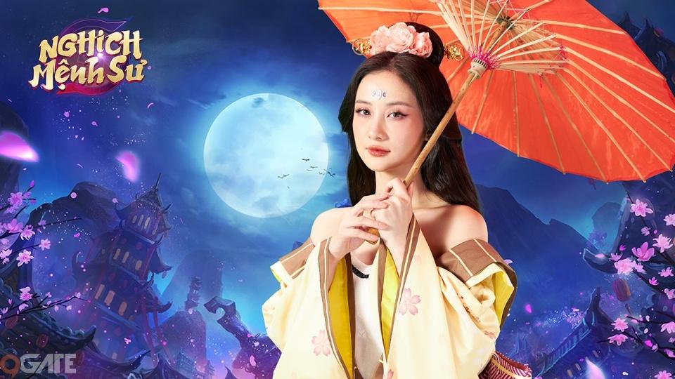 """Nghịch Mệnh Sư chơi lớn, mời hẳn """"nữ thần"""" Jun Vũ trở thành Người Đẹp Đồng Hành"""