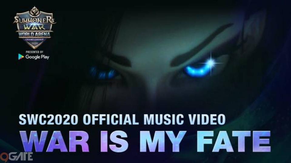 """Summoners War esports: Com2us ra mắt MV chính thức của SWC2020 với tựa đề """"WAR IS MY FATE"""""""