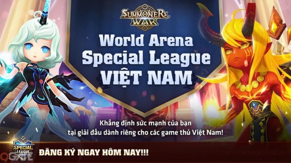 Summoners War khai mở giải đấu bên lề SWC2020 mang tên Special League - Việt Nam
