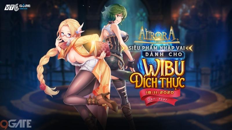 Aurora - Game nhập vai anime dành cho Wibu đích thực chốt ngày chính thức ra mắt tại Việt Nam
