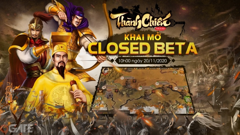 Thành Chiến Mobile tưng bừng Closed Beta cùng loạt sự kiện hấp dẫn