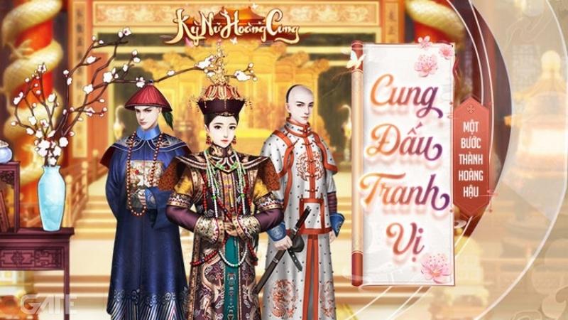 Kỳ Nữ Hoàng Cung - Game cung đấu ngôn tình sắp được Funtap phát hành tại Việt Nam