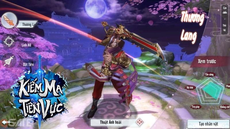 Kiếm Ma Tiên Vực - Game tiên hiệp cực chất sắp ra mắt thị trường Việt Nam