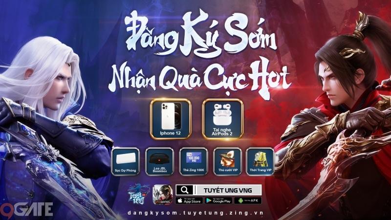 Tuyết Ưng VNG chính thức mở đăng ký sớm, tặng bộ quà giá trị lên đến 2,5 triệu đồng