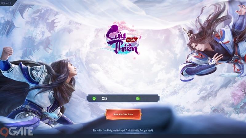 Cửu Thiên Mobile: Video trải nghiệm game