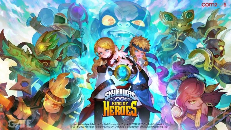 Skylanders Ring of Heroes giới thiệu hai nhân vật hạng Huyền Thoại và Anh Hùng cùng cập nhật mới